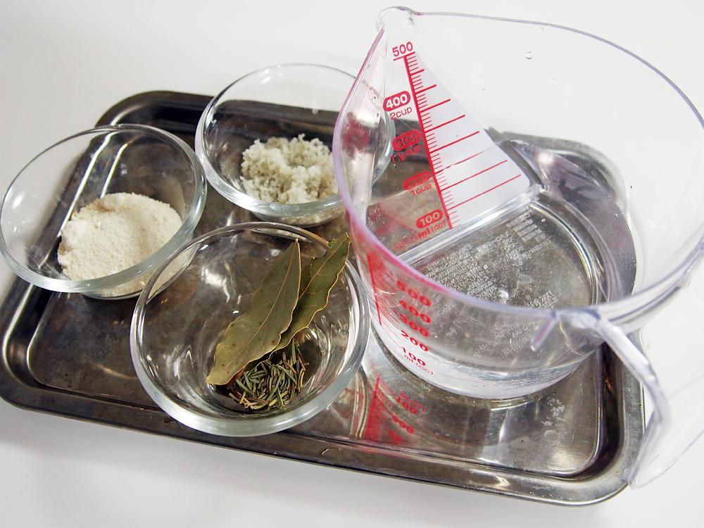 チキンの丸焼き ソミュール液