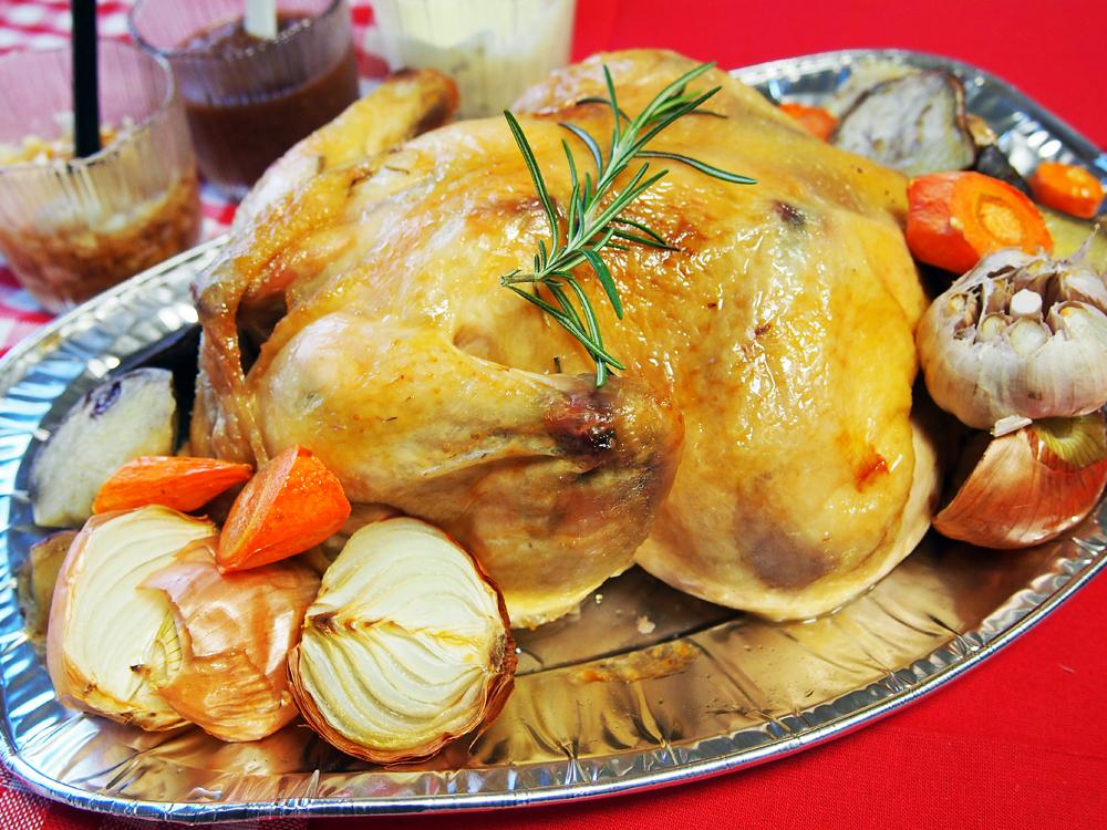 チキンの丸焼き 完成