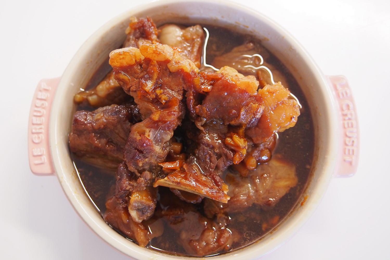 スペアリブのマーマレード煮