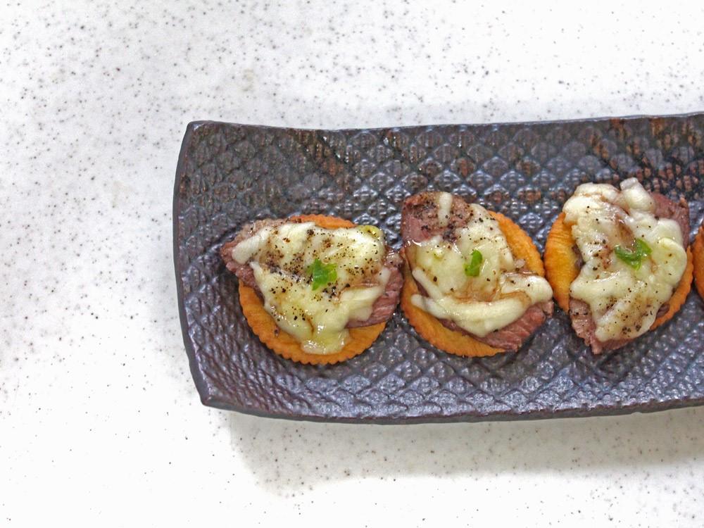 鴨肉のチーズ焼き